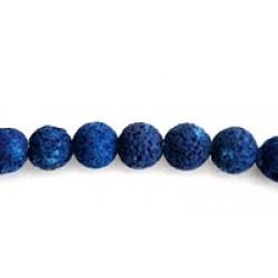 Στρογγυλες Χαντρες Μπλε
