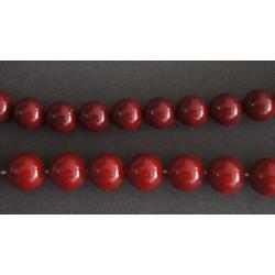 Περλα Φιλντισι Κοκκινο Σκουρο