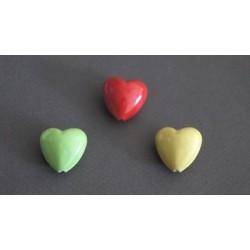 Κεραμικες Χαντρες Καρδια