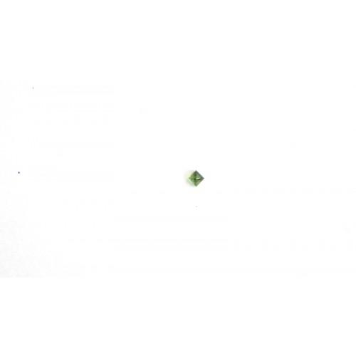 ΤΟΥΡΜΑΛΙΝΑ ΠΡΑΣΙΝΗ CABOCHON ΠΥΡΑΜΙΔΑ 3Χ3ΜΜ ΤΟΥΡΜΑΛΙΝΗ ΠΡΑΣΙΝΗ ΠΥΡΑΜΙΔΑ